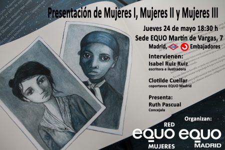 Presentación de la serie de libros 'Mujeres' @ Sede EQUO | Madrid | Comunidad de Madrid | España