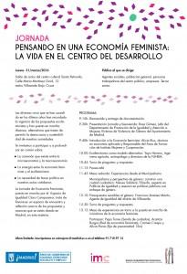Invitación jornada eco feminista