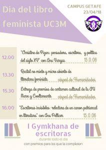 Día del libro feminista UC3M @ UC3M Campus Getafe | Getafe | Comunidad de Madrid | España