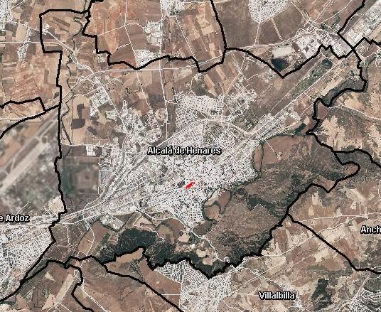 Foto aerea Alcala