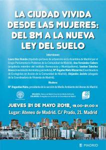 La ciudad vivida desde las mujeres @ Ateneo de Madrid | Madrid | Comunidad de Madrid | España