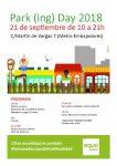 Nos sumamos al Park (ing) Day, para celebrar la Semana Europea de la Movilidad