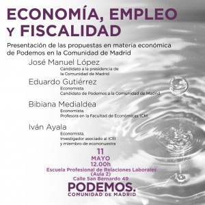 Podemos Presentacion Programa Economico