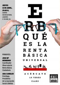 Charla: Qué es la Renta Básica Universal @ Centro Sociocultural de Lavapiés | Madrid | Comunidad de Madrid | España