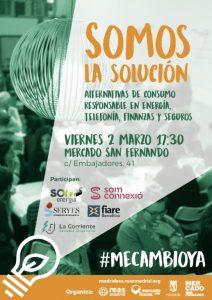 """Mesa sobre economía social y solidaria """"Somos la solución"""" @ Mercado de San Fernando   Madrid   Comunidad de Madrid   España"""