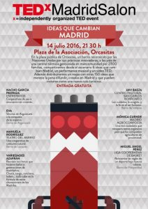 TEDxMadridsalon-Ideas que cambian Madrid