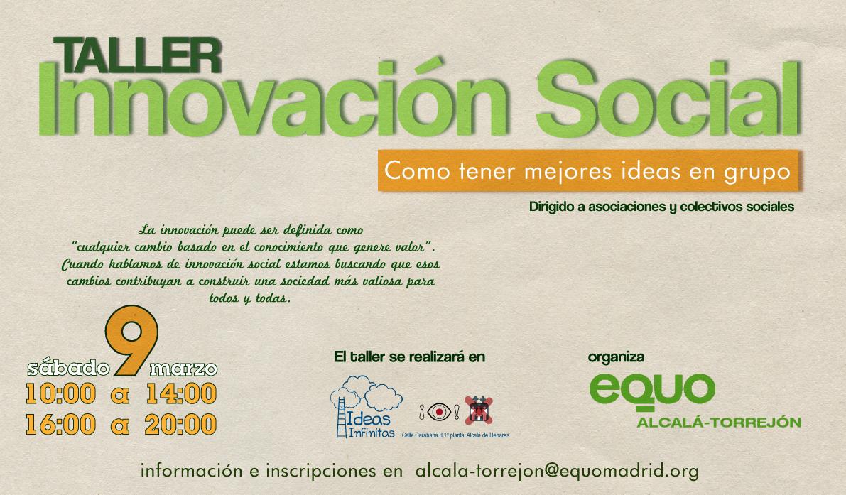 Taller de Innovacion Social-09-03-2013