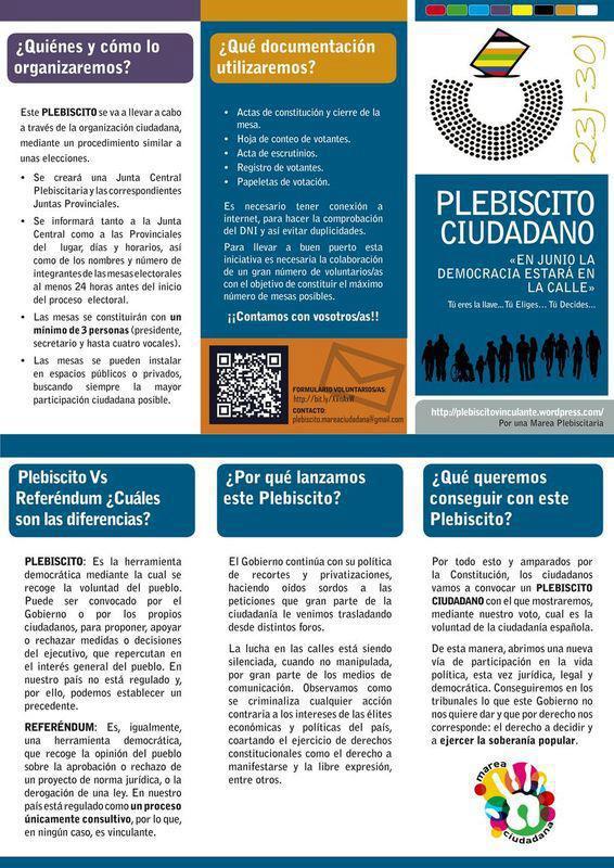 Plebiscito Ciudadano-Triptico informativo