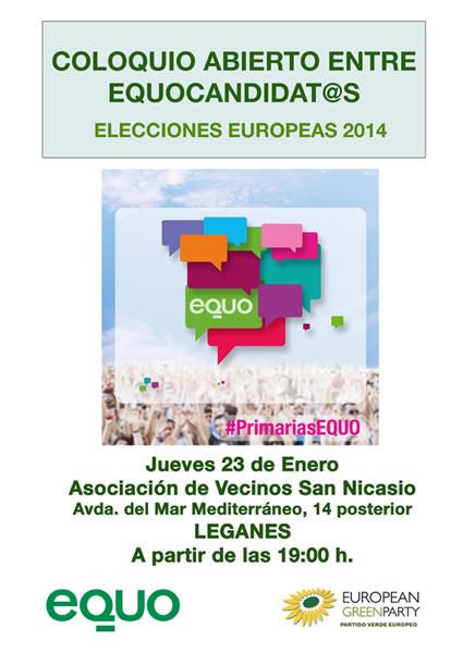 Coloquio EQUO candidat@s