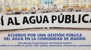 acuerdo agua publica