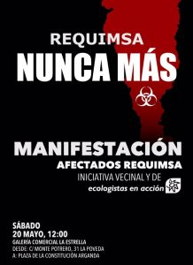 Arganda - Manifestación por los afectados del incendio de Requimsa @ Galería comercial La Estrella  | Arganda del Rey | Comunidad de Madrid | España