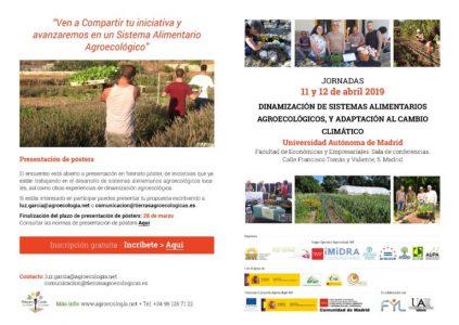 Jornadas Agroecología UAM @ Sala de conferencias de la Facultad de Económicas y empresariales UAM