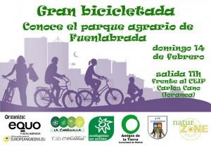 EQUO Fuenlabrada - Bicicletada @ CEIP Carlos Cano | Fuenlabrada | Comunidad de Madrid | España