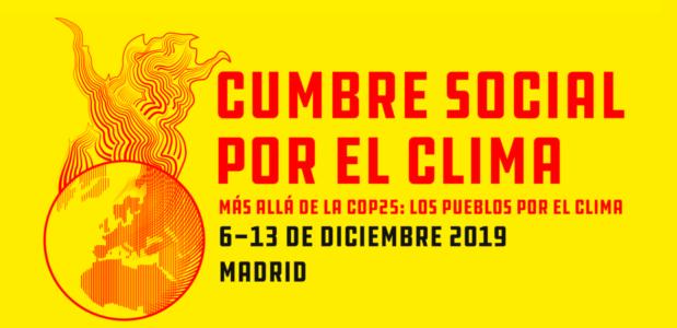 Cumbre social por el clima/Martes 10 @ Universidad Complutense de Madrid – Campus Ciudad Universitaria (Edificio Multiusos)
