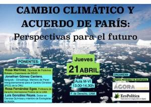 cambio climatico y acuerdo de París