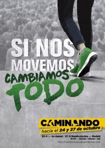 Caminando. Si nos movemos cambiamos todo @ Puerta de Atocha-Cibeles-Sol | Madrid | Comunidad de Madrid | España