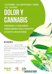 Dolor y cannabis @ Sede EQUO Madrid | Madrid | Comunidad de Madrid | España