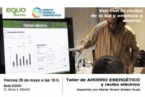 cartel ahorro energetico