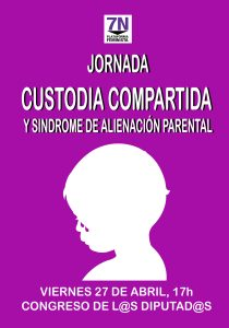 Jornada sobre custodia compartida impuesta y SAP en el Congreso @ Congreso de los Diputados | Madrid | Comunidad de Madrid | España