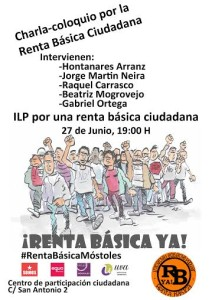 #RentaBasicaMostoles