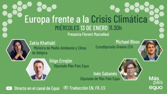 Europa frente a la crisis climática @ Canal Youtube EQUO