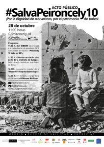 Vallecas - Acto público #SalvaPeironcely10 @ C/ Peironcely 10 | Madrid | Comunidad de Madrid | España