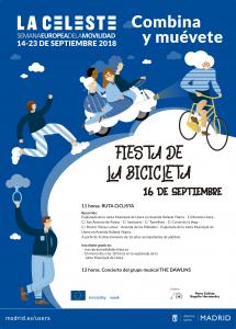 La Celeste: semana europea de la movilidad en Madrid @ Varios espacios