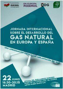 """Jornada internacional sobre el desarrollo del gas natural en Europa y España"""" @ Oficina del Parlamento Europeo   Madrid   Comunidad de Madrid   España"""