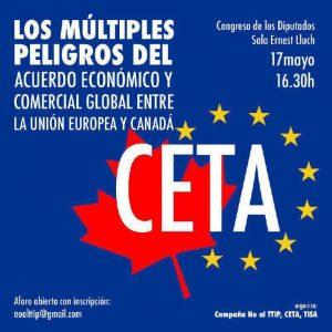 Jornada sobre los peligros del CETA @ Congreso de los Diputados | Madrid | Comunidad de Madrid | España