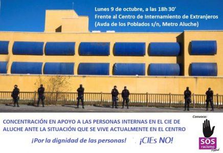 Concentración por el cierre del CIE de Aluche @ CIE Aluche | Madrid | Comunidad de Madrid | España
