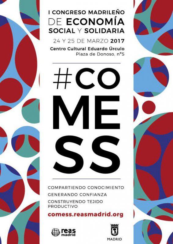 #COMESS - I Congreso Madrileño de Economía Social y Solidaria @ Centro Cultural Eduardo Úrculo | Madrid | Comunidad de Madrid | España