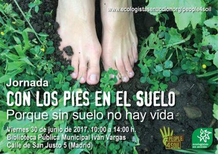 """Jornada """"Con los pies en el suelo"""" @ Biblioteca Pública Iván Vargas   Madrid   Comunidad de Madrid   España"""