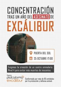 concentración Excalibur