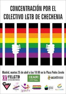 Concentración por el colectivo LGTB de Chechenia @ Pza. Pedro Zerolo | Madrid | Comunidad de Madrid | España