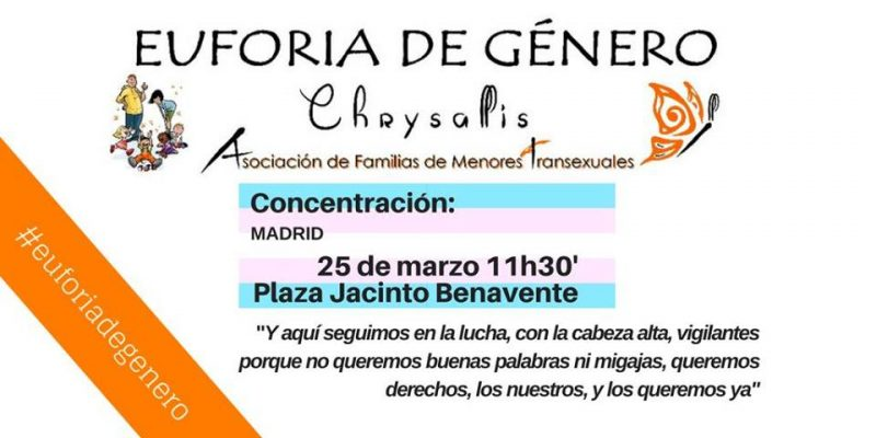 Concentración #EuforiaDeGénero @ Plaza Jacinto Benavente | Madrid | Comunidad de Madrid | España