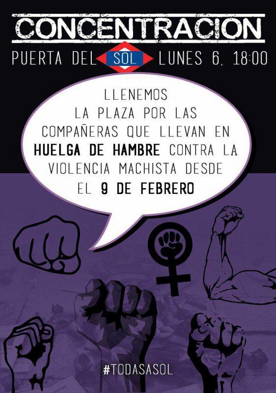 Concentración feminista @ Puerta del Sol | Madrid | Comunidad de Madrid | España