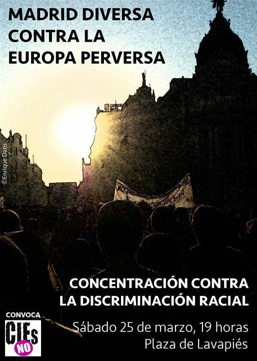 Concentración contra la discriminación racial @ Plaza de Lavapiés | Madrid | Comunidad de Madrid | España