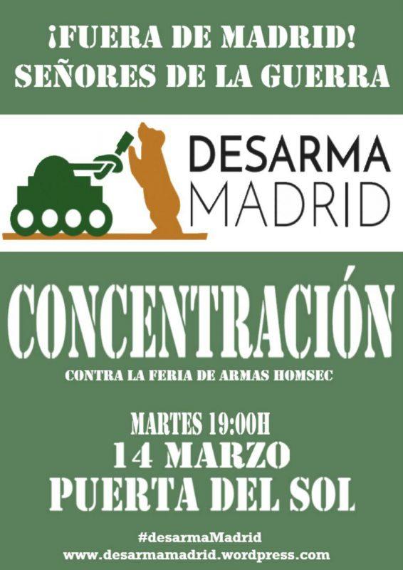 Concentración Desarma Madrid @ Puerta del Sol | Madrid | Comunidad de Madrid | España