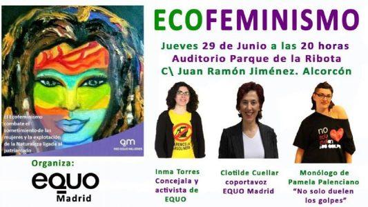 Alcorcón - Acto sobre Ecofeminismo @ Auditorio Parque de La Ribota   Alcorcón   Comunidad de Madrid   España