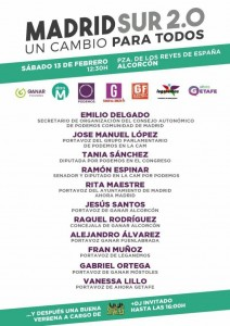 Alcorcón - Encuentro Madrid Sur 2.0 @ Pza. Reyes de España | Alcorcón | Comunidad de Madrid | España