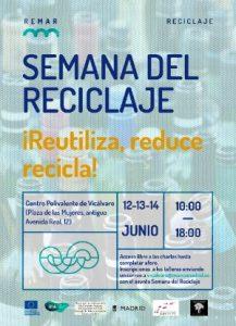 Semana del Reciclaje @ MARES Madrid Avenida Real 12 2ª Planta Madrid, Madrid 28032 | Madrid | Comunidad de Madrid | España