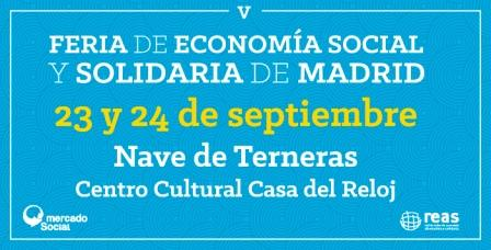 V Feria de Economía Social y Solidaria de Madrid @ Matadero | Madrid | Comunidad de Madrid | España