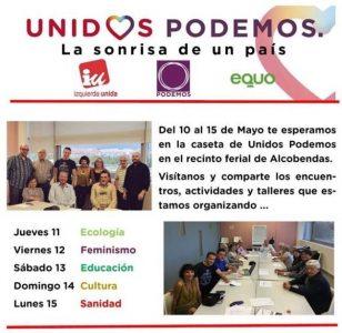 Alcobendas - Fiestas municipales @ Caseta Unidos Podemos Alcobendas | Madrid | Comunidad de Madrid | España
