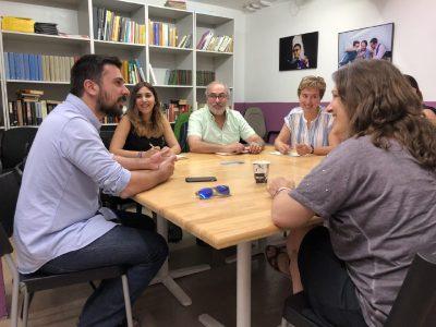 Foto encuentro EQUO Podemos