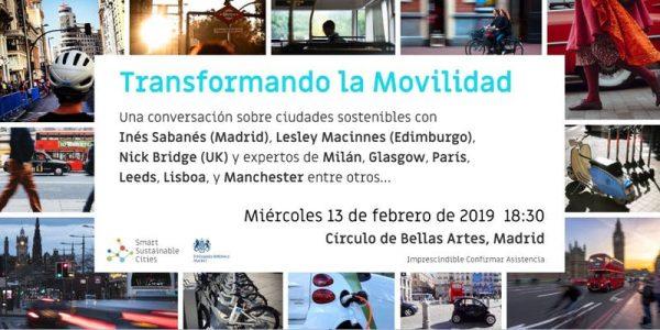 Transformando la movilidad. Una conversación sobre ciudades sostenibles