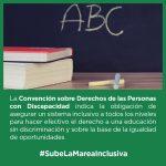 Apoyamos la presentación de la ILA Escolaridad Inclusiva para su tramitación en la Asamblea de Madrid