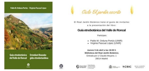 Presentación guía etnobotánica @ Biblioteca Real Jardín Botánico | Madrid | Comunidad de Madrid | España