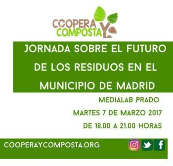 Jornada sobre el futuro de los residuos en el municipio de Madrid @ Medialab-Prado | Madrid | Comunidad de Madrid | España