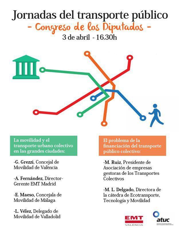 Jornada sobre transporte público colectivo en las grandes ciudades @ Congreso de los Diputados | Madrid | Comunidad de Madrid | España
