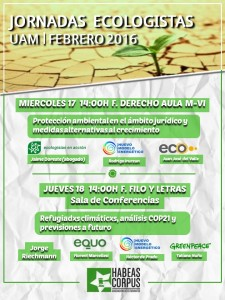 Jornadas ecologistas UAM @ UAM | Madrid | Comunidad de Madrid | España